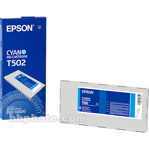 Epson Photo Dye Cyan Ink Cartridge