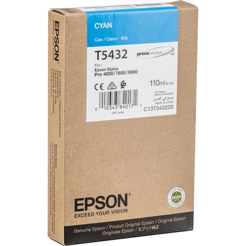Epson UltraChrome, Cyan Ink Cartridge