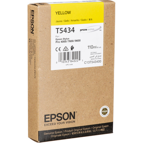 Epson UltraChrome, Yellow Ink Cartridge
