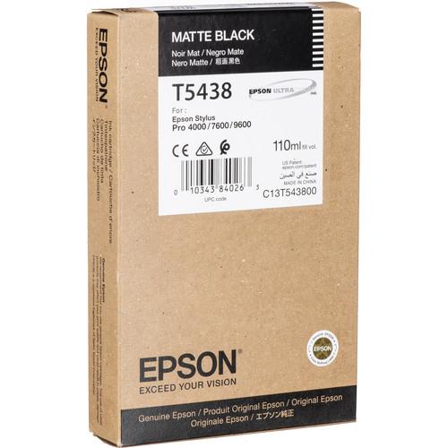 Epson UltraChrome, Matte Black Ink Cartridge (110ml)