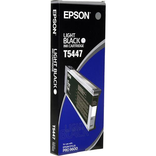 Epson UltraChrome, Light Black Ink Cartridge for Stylus Pro 4000 & 9600 Printer (220ml)