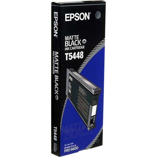 Epson UltraChrome, Matte Black Ink Cartridge (220ml)