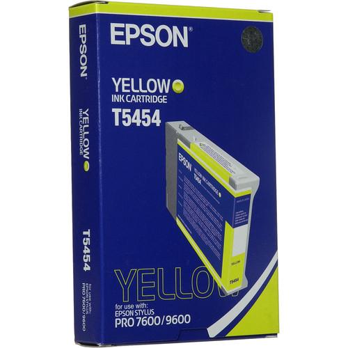 Epson Photographic Dye, Yellow Ink Cartridge for Epson Stylus Pro 7600 & 9600 Printers (110ml)