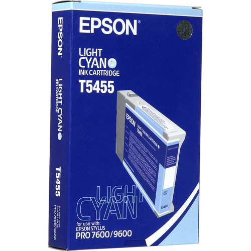Epson Photographic Dye, Light Cyan Ink Cartridge