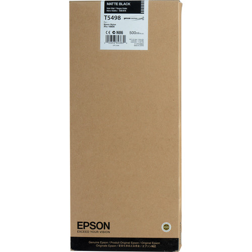 Epson UltraChrome, Matte Black Ink Cartridge
