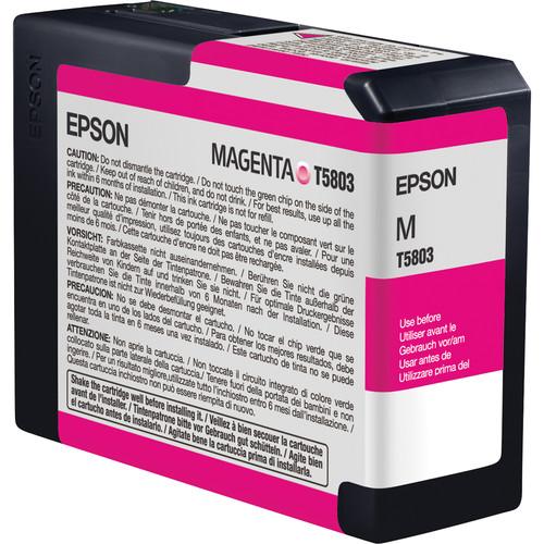 Epson UltraChrome K3 Magenta Ink Cartridge (80 ml)