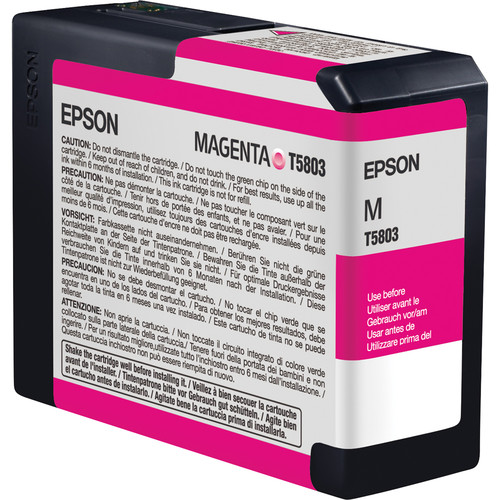Epson UltraChrome K3 Magenta Ink Cartridge (80 ml)