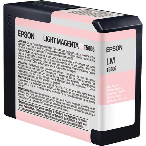 Epson UltraChrome K3 Light Magenta Ink Cartridge (80 ml)