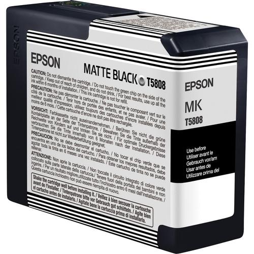 Epson UltraChrome K3 Matte Black Ink Cartridge (80 ml)