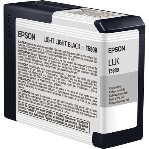 Epson UltraChrome K3 Light Light Black Ink Cartridge (80 ml)