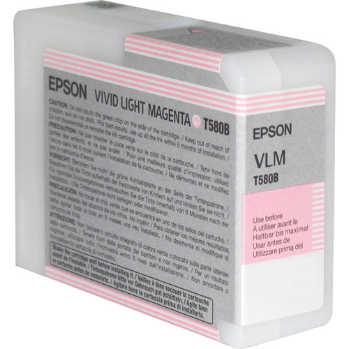Epson UltraChrome K3 Vivid Light Magenta Ink Cartridge (80 ml)