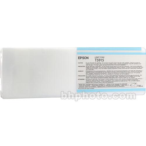 Epson UltraChrome K3 Light Cyan Ink Cartridge (700 ml)
