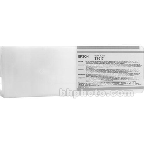 Epson UltraChrome K3 Light Black Ink Cartridge (700 ml)
