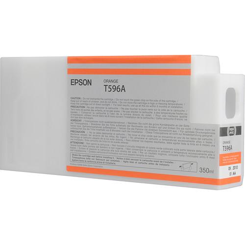 Epson T596A00 Ultrachrome HDR Ink Cartridge: Orange (350ml)