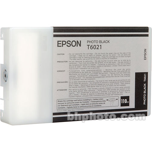 Epson UltraChrome Photo Black Ink Cartridge (110ml)