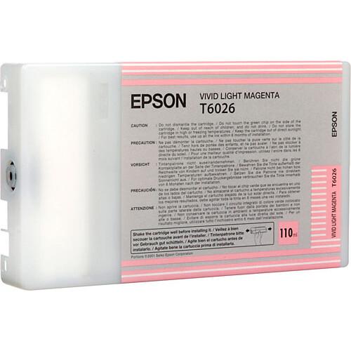 Epson UltraChrome Vivid Light Magenta Ink Cartridge (110ml)