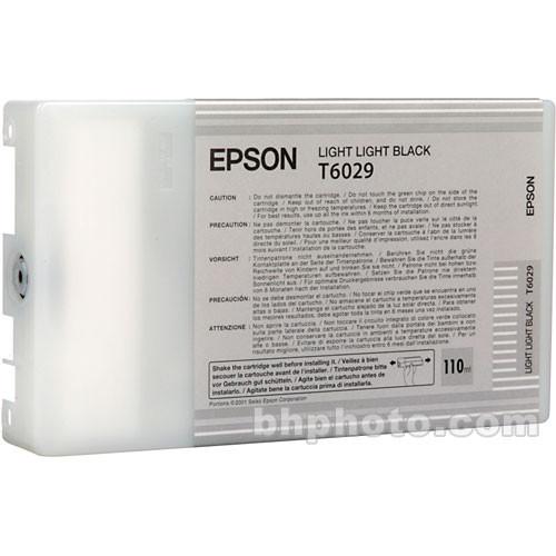 Epson UltraChrome Light Light Black Ink Cartridge (110ml)