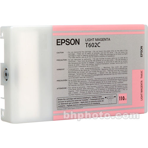 Epson UltraChrome Light Magenta Ink Cartridge (110ml)