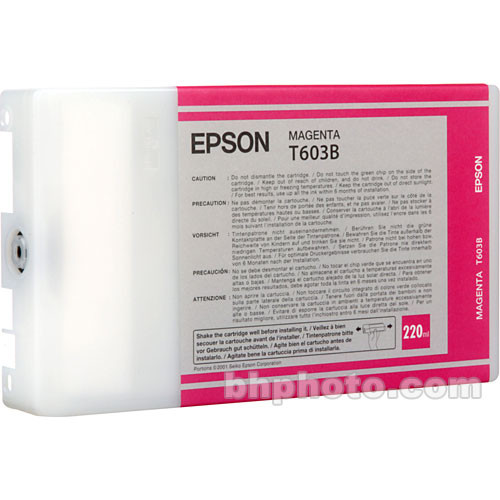 Epson UltraChrome Magenta Ink Cartridge (220ml)
