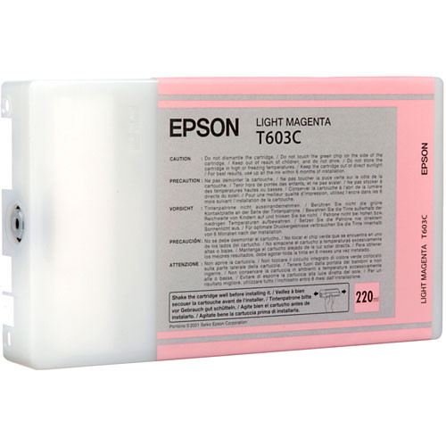 Epson UltraChrome Light Magenta Ink Cartridge (220ml)