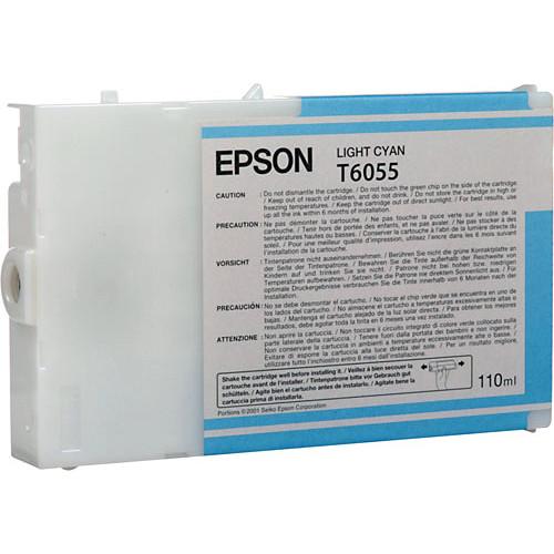 Epson UltraChrome K3 Light Cyan Ink Cartridge (110 ml)