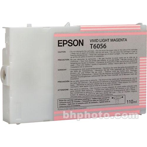 Epson UltraChrome K3 Vivid Light Magenta Ink Cartridge (110 ml)