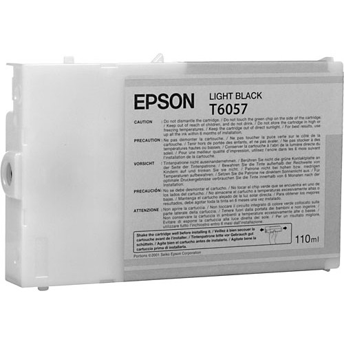 Epson UltraChrome K3 Light Black Ink Cartridge (110 ml)