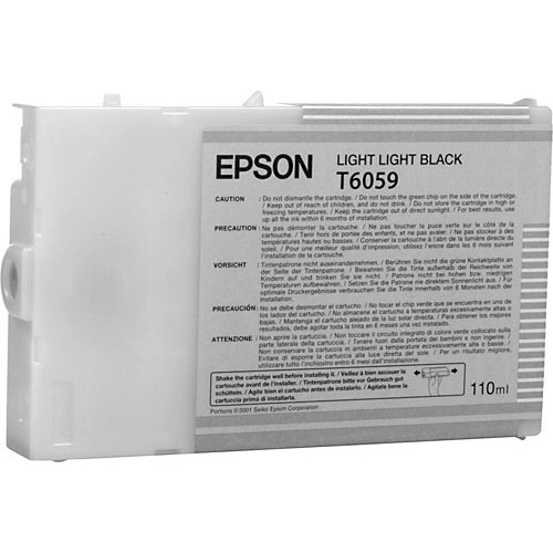 Epson UltraChrome K3 Light Light Black Ink Cartridge (110 ml)