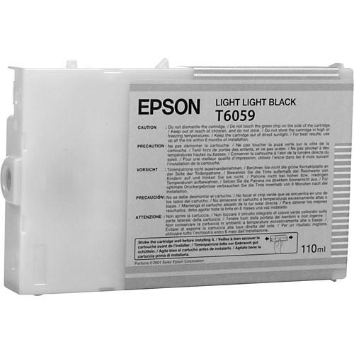 Epson UltraChrome K3 Light Light Black Ink Cartridge (110 ml)