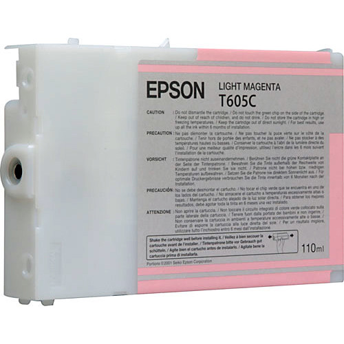 Epson UltraChrome K3 Light Magenta Ink Cartridge (110 ml)