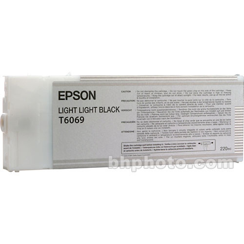 Epson UltraChrome K3 Light Light Black Ink Cartridge (220 ml)
