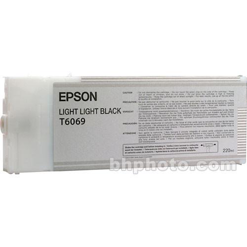 Epson UltraChrome K3 Light Light Black Ink Cartridge (220 ml)