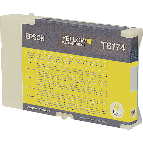 Epson High Yield Yellow Ink Cartridge For B-510DN Printer
