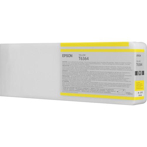 Epson T636400 Yellow UltraChrome HDR Ink Cartridge (700 mL)