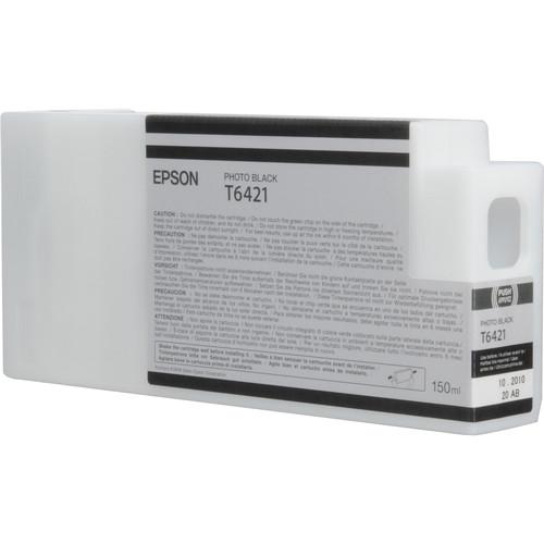 Epson T642100 Photo Black UltraChrome HDR Ink Cartridge (150 mL)