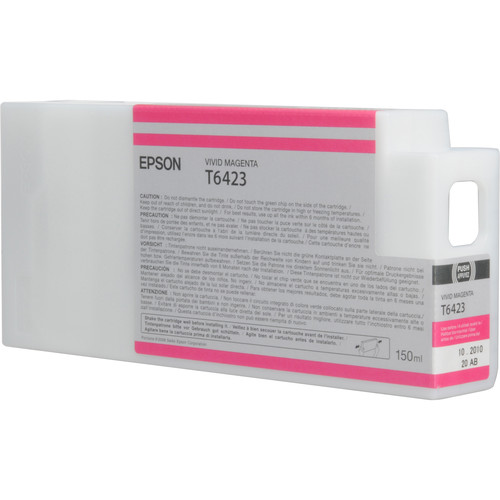 Epson T642300 Vivid Magenta UltraChrome HDR Ink Cartridge (150 mL)