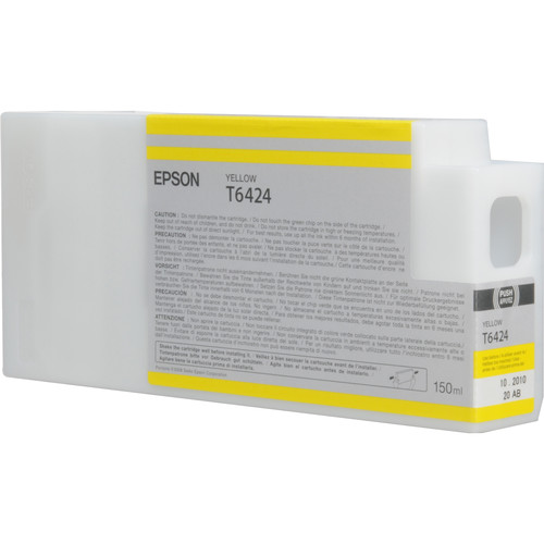 Epson T642400 Yellow UltraChrome HDR Ink Cartridge (150 mL)
