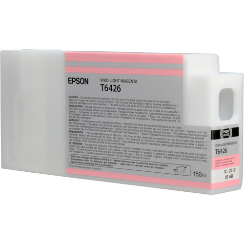 Epson T642600 Vivid Light Magenta UltraChrome HDR Ink Cartridge (150 mL)