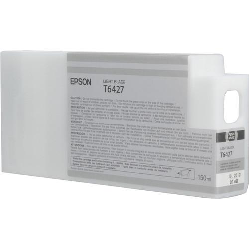 Epson T642700 Light Black UltraChrome HDR Ink Cartridge (150 mL)