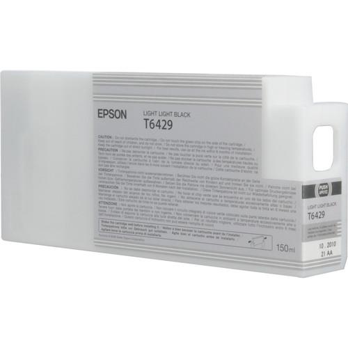 Epson T642900 Light Light Black UltraChrome HDR Ink Cartridge (150 mL)