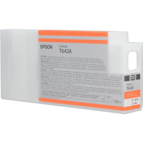 Epson T642A00 Ultrachrome HDR Ink Cartridge: Orange (150ml)