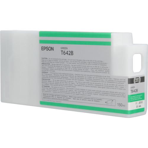 Epson T642B00 Green UltraChrome HDR Ink Cartridge (150 mL)