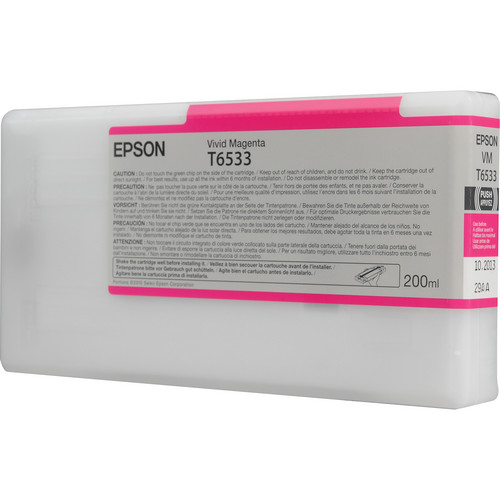 Epson Ultrachrome HDR Vivid Magenta Ink Cartridge (200 ml)