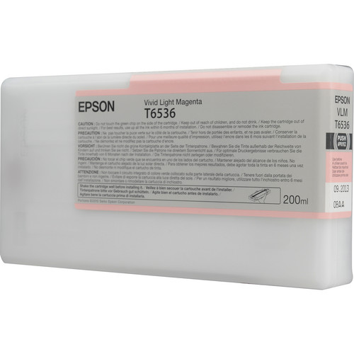 Epson Ultrachrome HDR Vivid Light Magenta Ink Cartridge (200 ml)