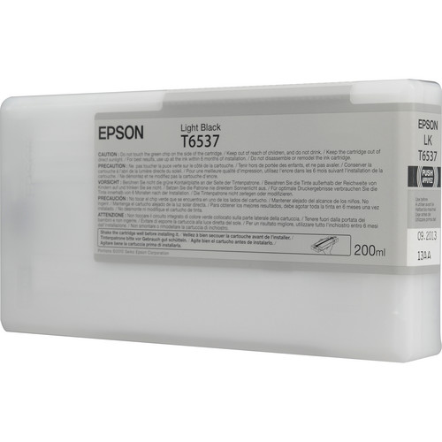 Epson Ultrachrome HDR Light Black Ink Cartridge (200 ml)