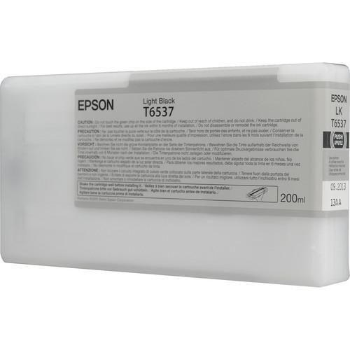 Epson Ultrachrome HDR Light Black Ink Cartridge (200 ml)