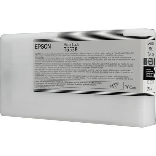 Epson Ultrachrome HDR Matte Black Ink Cartridge (200 ml)