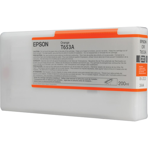 Epson Ultrachrome HDR Orange Ink Cartridge (200 ml)