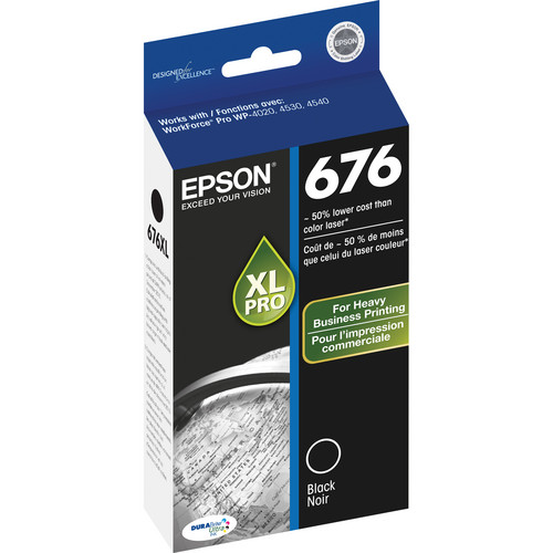 Epson 676XL Black Ink Cartridge