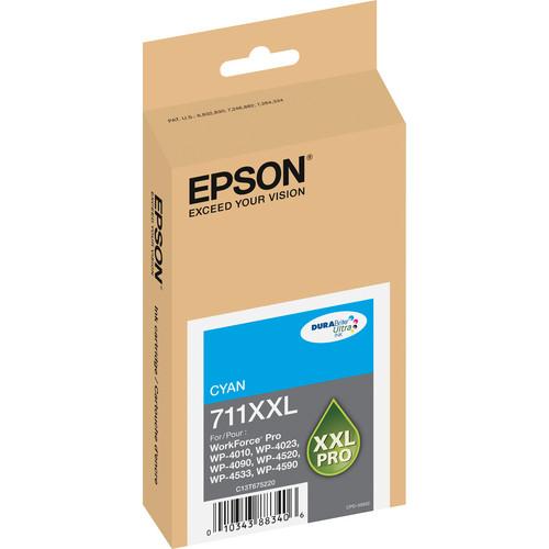 Epson 711XXL Cyan Ink Cartridge